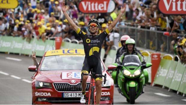 Lilian Calmejane se impuso en la octava etapa del Tour