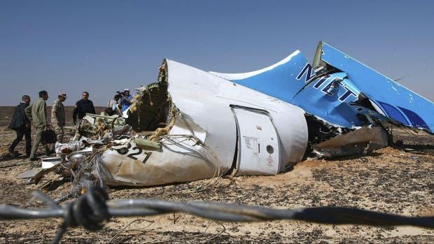 Se estrelló un avión ruso con 224 personas a bordo en Egipto Tragedia-aerea-en-egipto-2114803w620