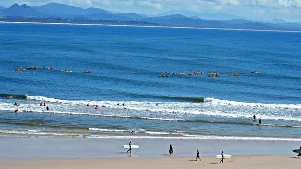 Buena onda: sonidos de olas y una comunidad verde