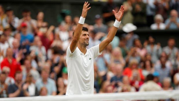 Djokovic ganó con autoridad en los octavos de final