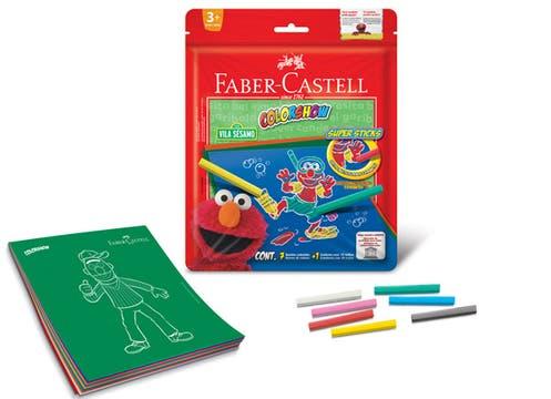 Para fomentar la creatividad, el kit Color Show Super Sticks de Faber Castell ($44,50). Foto: lanacion.com