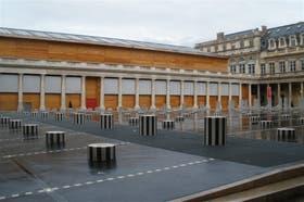 El teatro desmontable creado para hacer las renovaciones