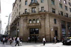 Sede del banco HSBC en Buenos Aires