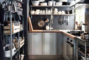 8 cocinas con aire industrial