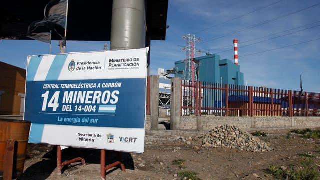 La central térmica que sigue inactiva, pese a que la inauguró Cristina Kirchner en septiembre
