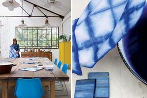 Un espacio de trabajo destinado a talleres para artesanos