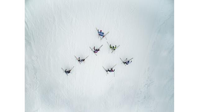 Carrera de Esquí, Adzhigardak, Asha, Russia
