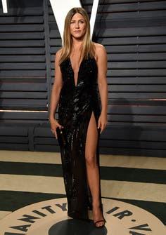 Jennifer Aniston by Versace.