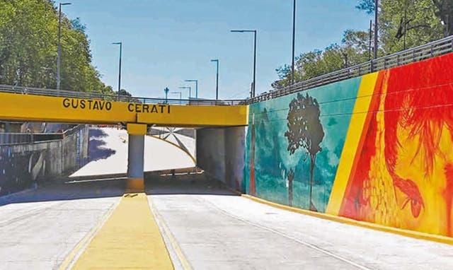 Inauguraron un túnel en homenaje a Cerati