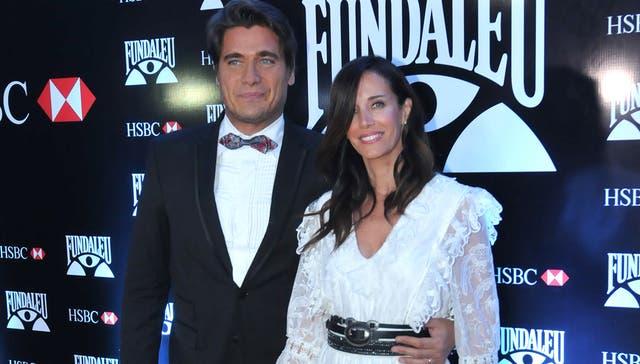 Guillermo Andino y su mujer, Carolina Prat