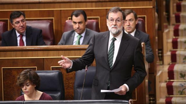 """Rajoy pidió """"sensatez"""" al presidente catalán"""