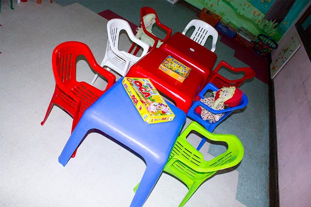 Hay juegos de mesa y muchos juguetes. Foto: Gentileza Agustina Ferreri