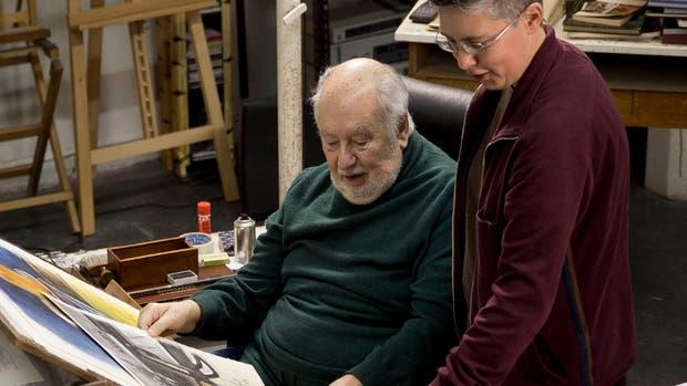 A cuatro manos: el maestro Guillermo Roux tendrá una muestra homenaje en la feria Arte Espacio, este mes; la curadora es su hija Alejandra, que elige lo mejor de la obra de su padre