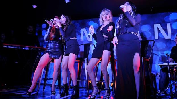 Lourdes Fernández, Valeria Gastaldi, Virginia da Cunha y Lissa Vera, de regreso a los escenarios. Foto: Gerardo Viercovich