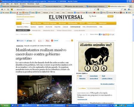 El Universal, de Venezuela.
