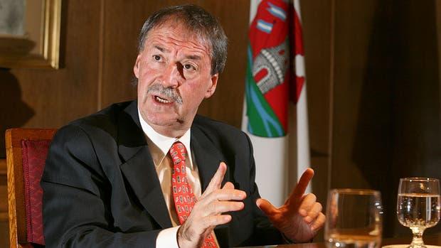 El gobernador Juan Schiaretti