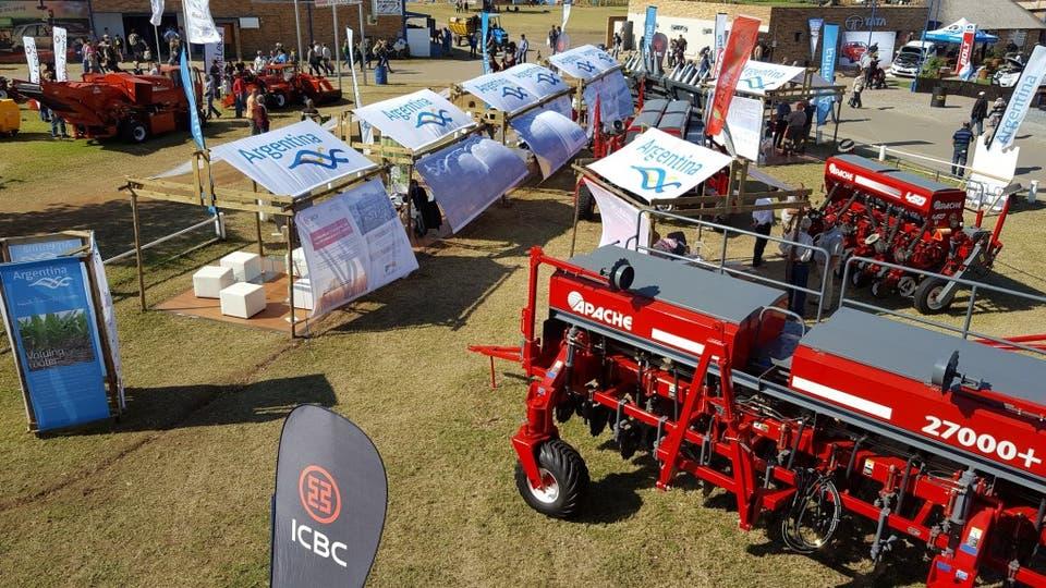 La maquinaria argentina volverá a lucirse en la exposición de Sudáfrica y lo hará con una dinámica