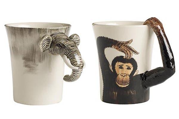 ¡En centralcrafts.com podés encontrar tazas con la forma del animal que más guste! ¿Cuál es tu preferida?. Foto: Foto: centralcrafts.com