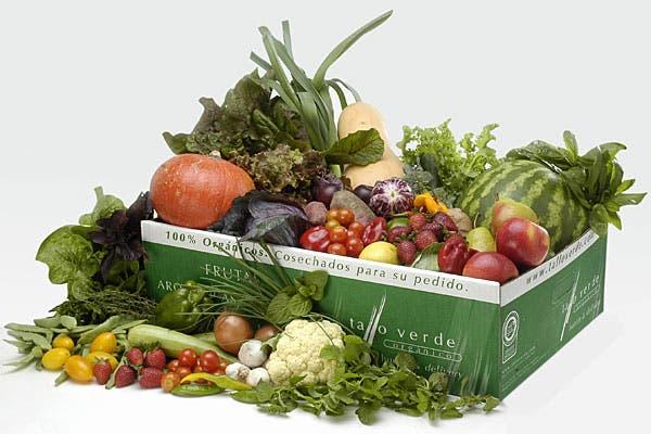 Frutas y verduras, algunos de los productos que venden.