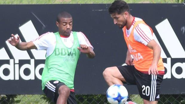De la Cruz y Casco, los dos formaron parte del equipo titular