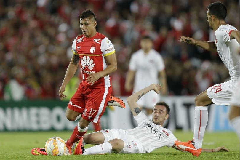 Independiente no hizo pie en la altura de Bogotá