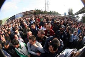 Cientos de obreros ocuparon las oficinas de la fábrica de acero Ilva, en la ciudad italiana de Taranto