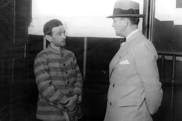 Una imagen de Cayetano Santos Godino del Archivo General de la Nación, en 1923, cuando fue trasladado al presidio de Tierra del Fuego