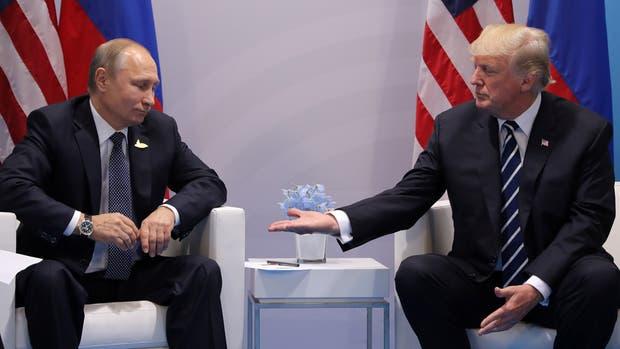Trump contó por Twitter lo que pasó con Vladimir Putin en la cumbre del G-20
