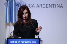 Cristina defendió la política monetaria durante su discurso en Tecnópolis