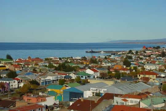 Vista de la ciudad Punta Arenas, en la región de Magallanes. Foto: Flickr / unt.edu
