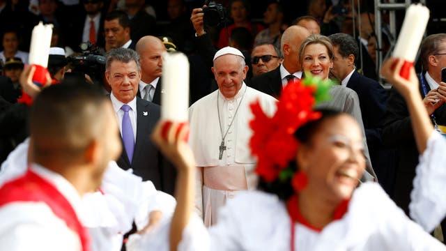 La agenda completa del Papa en su visita a Colombia