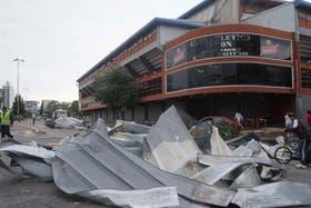El temporal provocó destrozos en la provincia de Santa Fe