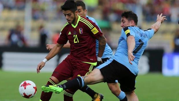 Ante Venezuela, el partido N° 100 de Cebolla Rodríguez en la selección uruguaya