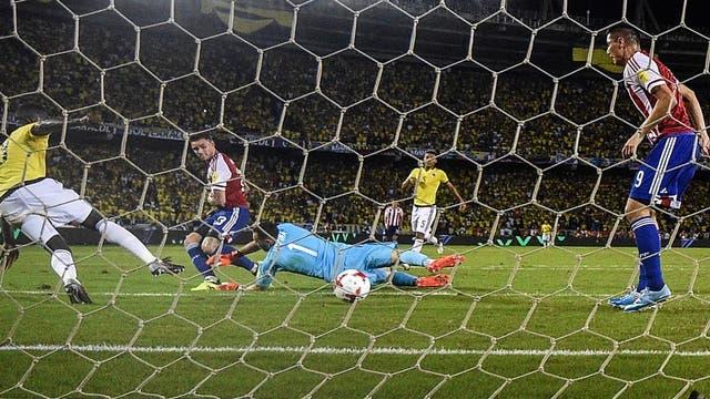 En el final, a Colombia se le escapó el boleto al Mundial