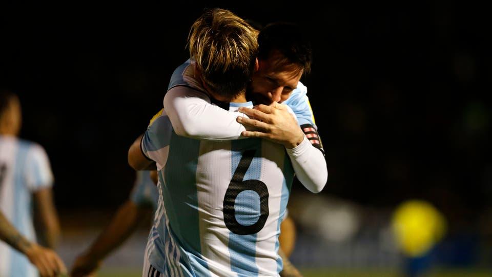 Lionel Messi, el gol del cierre del mejor jugador del mundo. Foto: Fabián Marelli