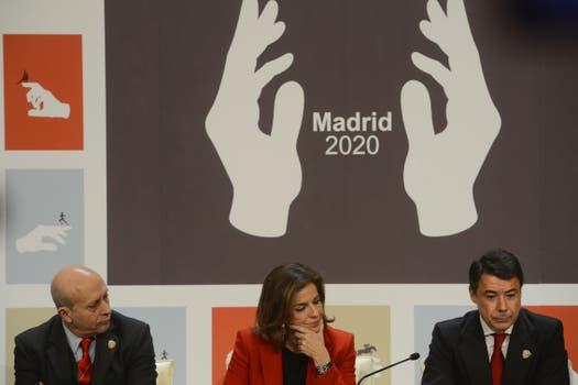 """Madrid 2020 y el arma mortal para ganar los JJOO: las """"manos mágicas"""" (?). Foto: AFP"""