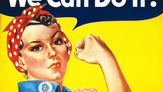 Rosie la Remachadora, un ícono del feminismo que no es lo que parece