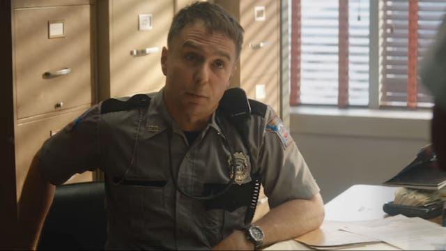 Sam Rockwell en Tres avisos por un crimen, Missouri, la película que le valió el Globo de Oro al mejor actor de reparto