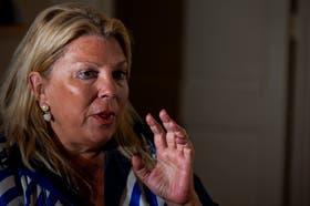 La diputada reelecta Elisa Carrió criticó con dureza a Martín Sabbatella