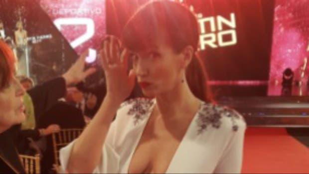 Griselda Siciliani se quebró al recibir el premio como mejor actriz protagónica