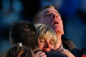 Dolor y desconsuelo entre los familiares de las víctimas