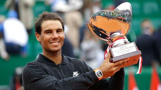 Rafa Nadal, campeón en Montecarlo por décima vez
