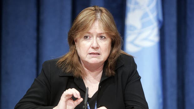 La canciller, Susana Malcorra