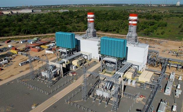La central eléctrica de Ensenada Barragán, en esa localidad bonaerense, una de las que estaba ampliando el consorcio