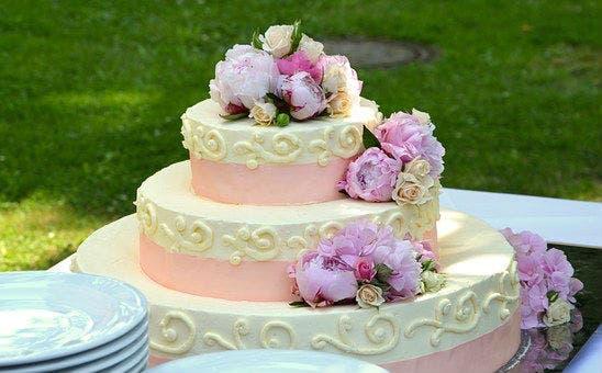 Torta de bodas (Pixabay)