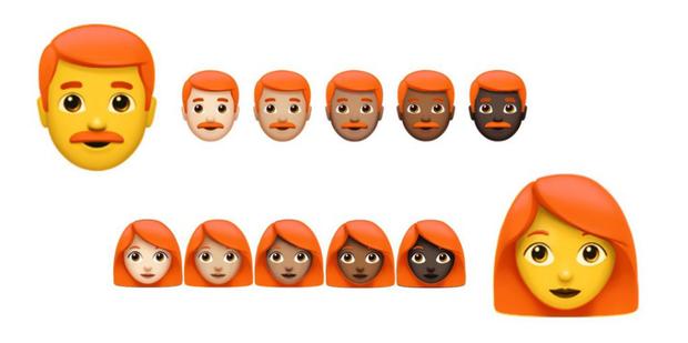 A partir de 2018 WhatssAp sumará emojis colorados
