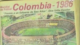 Los diarios colombianos le dieron gran despliegue a la designación de Colombia como sede