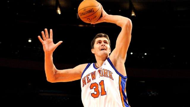 """""""En New York seguí haciendo cosas estúpidas"""", recordo Darko Milicic sobre su experiencia con los Knicks, en 2009"""