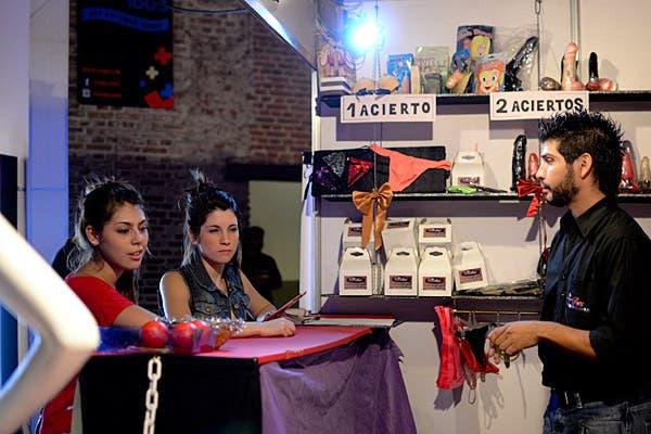 Los juegos, otra de las atracciones de la expo. Foto: Gentileza Sexpoerótica