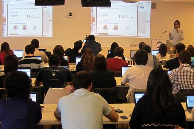 El equipo de Nación Data participó del entrenamiento de herramientas online para el periodismo de datos